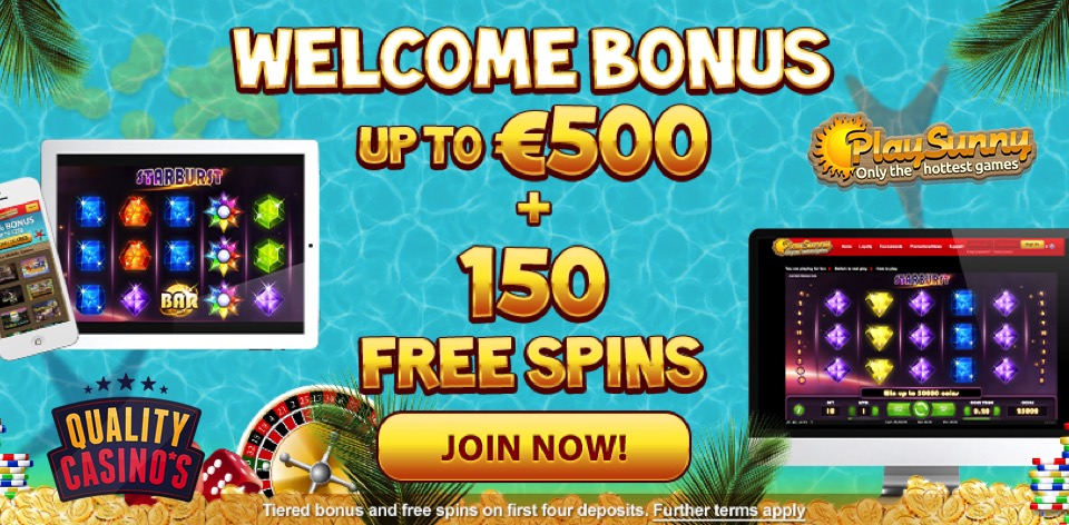 PlaySunny Casino Bonus | Quality-Casinos.com