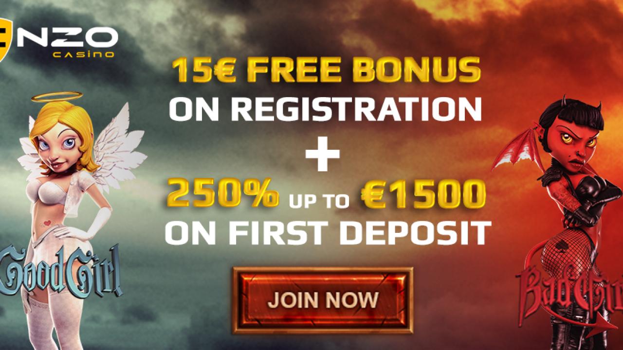 Enzo Casino Bonus Code 15fe Quality Casinos Com 15 Free