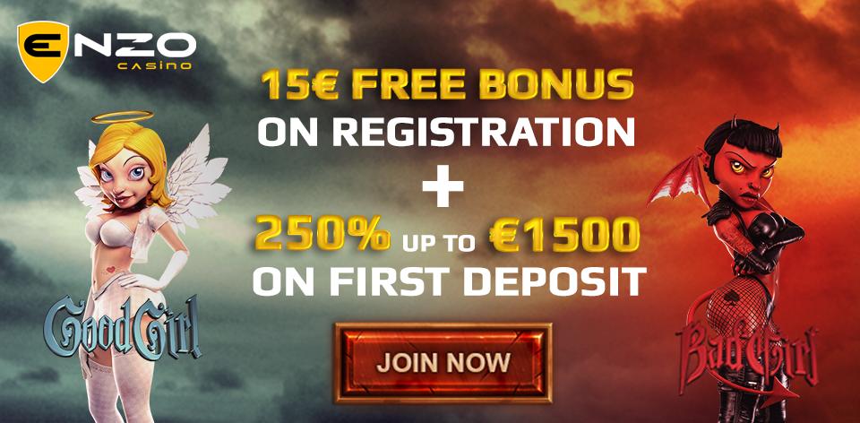 Enzo casino nodeposit