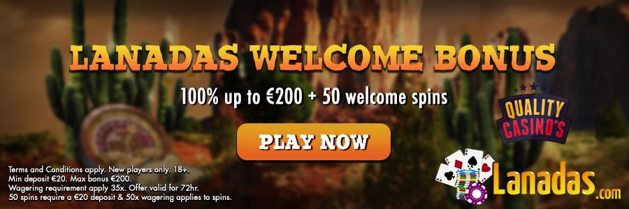Lanadas Casino Bonus 2018 | Quality-Casinos.com